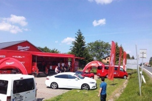MILWAUKEE BIG RED TRUCK tour v CIBET Proficentru - červen 2017
